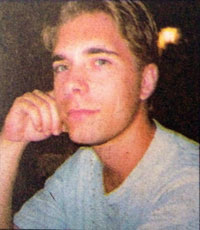 Tobias Sjölund. Bilden är från 91:an nr 3 2002.