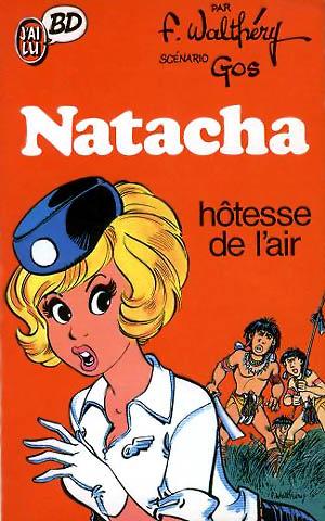 Natacha av Francois Walthery. Källa: Wikimedia Commons